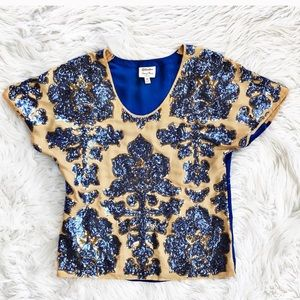 Tracy Reese sequined blouse